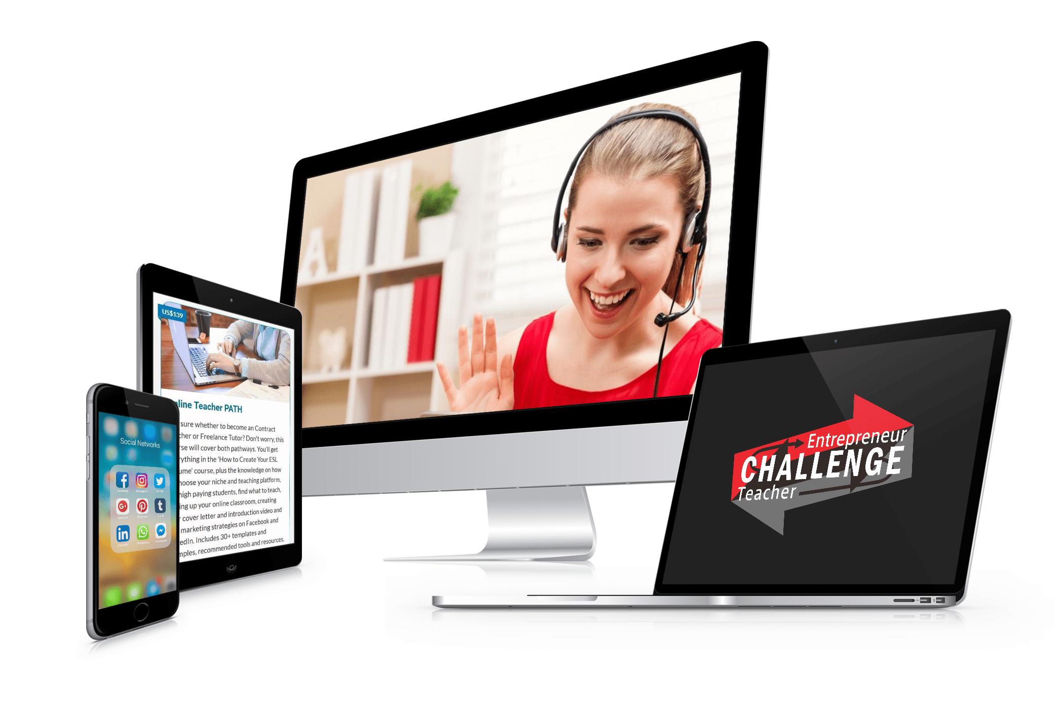 120-hour Entrepreneur Online Teacher Bundle