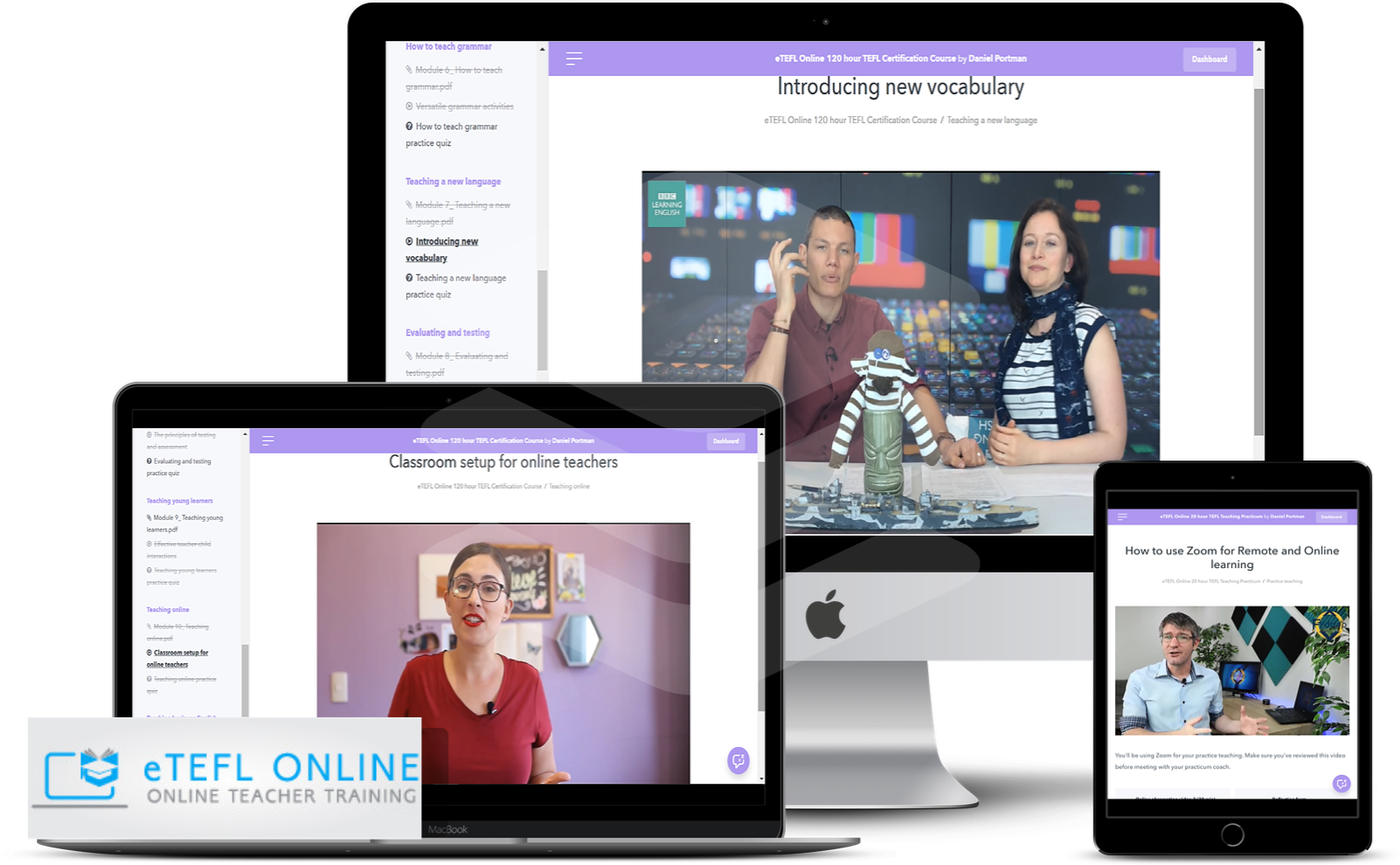 Standalone 120-hour Online TEFL/TESOL Course - eTEFL Online