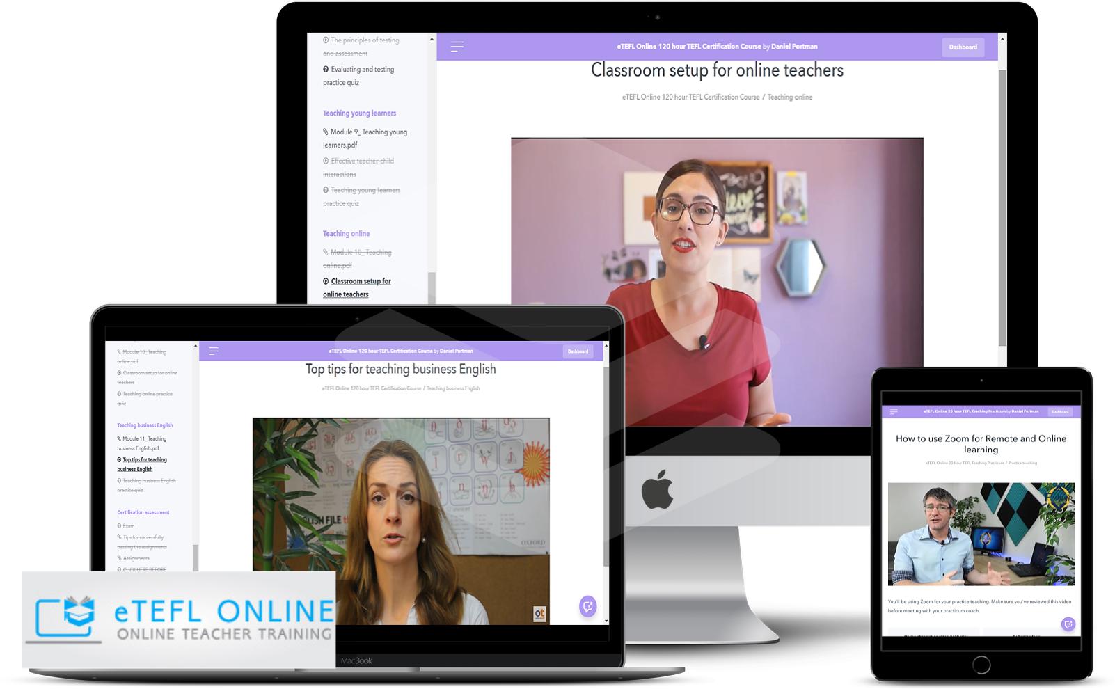 Standalone 20-hour Online Teaching Practicum - eTEFL Online